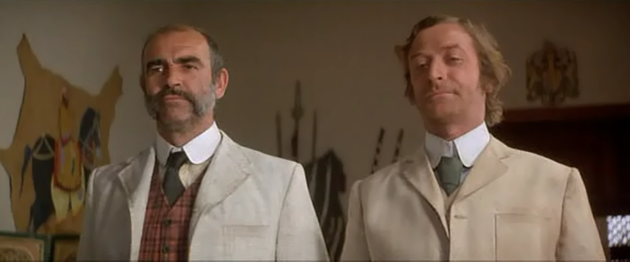 Sean Connery and Michael Caine The Man Who Would Be King