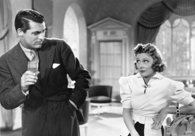 Cary Grant and Irene Dunne in The Awful Truth